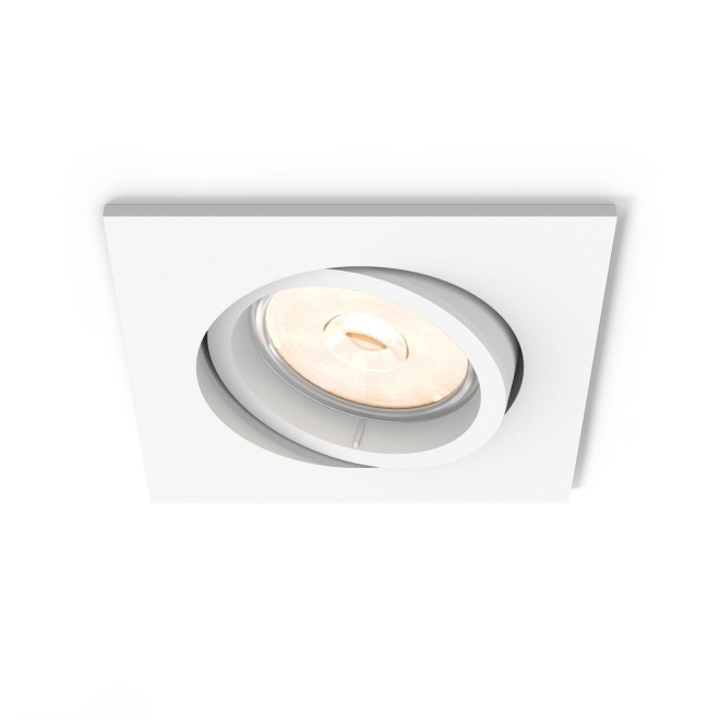 Philips myLiving LED Downlight Donegal square white
