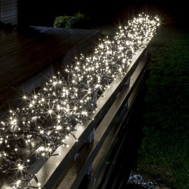 Konstsmide LED Cluster Chain of Lights, warm white 9m (576 LEDs), 8 Functions