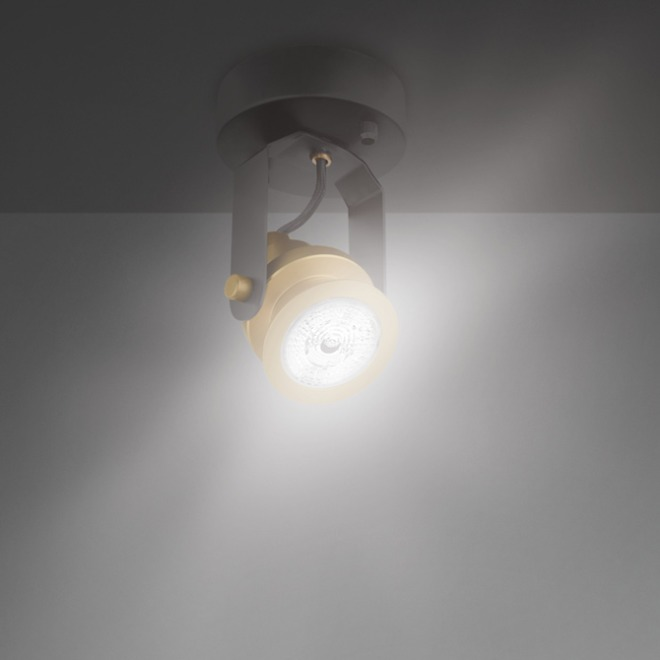 Osram VINTAGE 1906 Decospot Single Ceiling Light gold