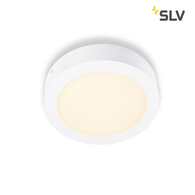 SLV SENSER LED PANEL rond blanc 14W