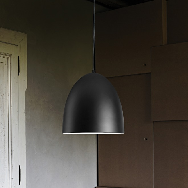 Ideal Lux DIN SP1 D40 NERO lampe suspendue