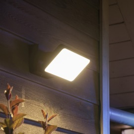 Philips Hue White and Color Ambiance Discover LED Projecteur, noir