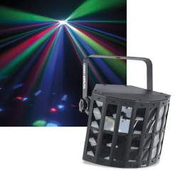 Showgear VIBE FX Derby LED-Scheinwerfer