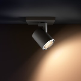 Philips hue Runner LED 1-er Spot schwarz