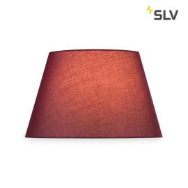 SLV FENDA MIX&MATCH Abat-jour, Conique, D/H 45,5/28cm, bordeaux