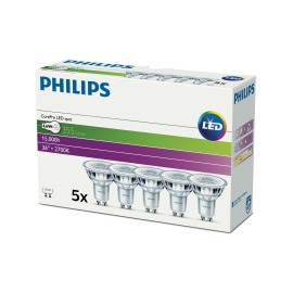 Philips CorePro LEDspot 4,6-50W GU10 827 36° Multipack of 5 image