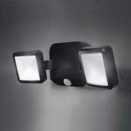 Osram Battery LED-Spotlight Double black
