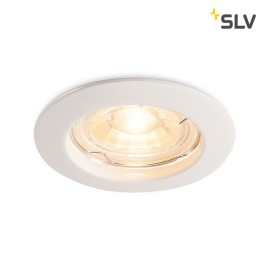 SLV Pika Downlight GU10 6cm blanc