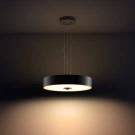 Philips hue Fair LED lampe suspendue noir