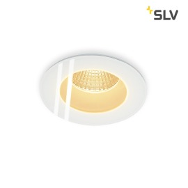 SLV PATTA-F Downlight rond blanc