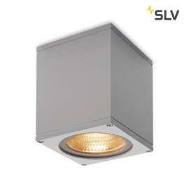 SLV Big Theo Outdoor LED-Wandleuchte grau
