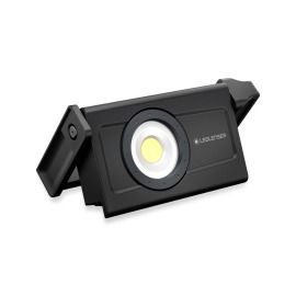 Ledlenser iF4R LED Construction Spotlight, rechargeable, 5 light levels, black