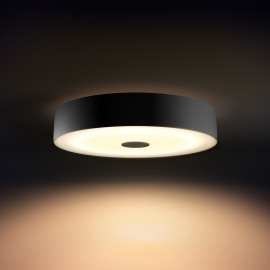 Philips Hue White Ambiance Fair LED Ceiling Light black, 3000lm, Dimmer Switch