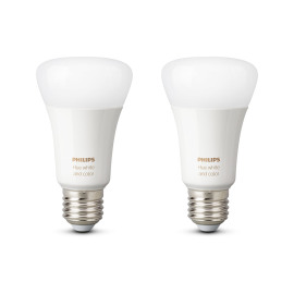 Philips Hue White and Color Ambiance LED E27 set of 2 RGBW 10W