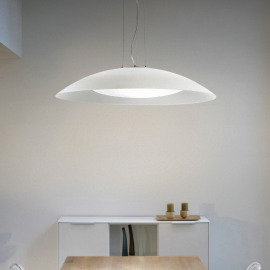 Ideal Lux LENA SP3 D74 BIANCO pendant light