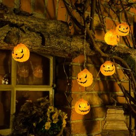 Konstsmide LED pumpkin fairy light