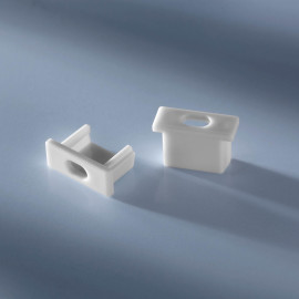 Open end cap for aluminium profiles image