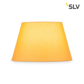 SLV Fenda Lampshade, Conical, D/H 45.5/28 cm, yellow