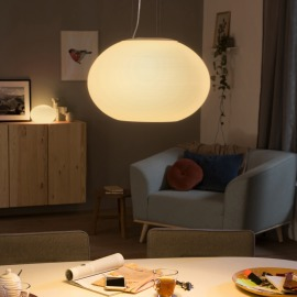 Philips Hue LED Luminaire Suspendu Flourish, blanc, White and Color Ambiance