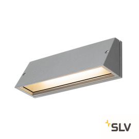 SLV PEMA LED Wall Light, 3000/4000K, grey, IP65