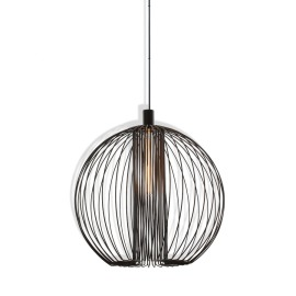 Wever & Ducré Pendant Light Wiro Globe black