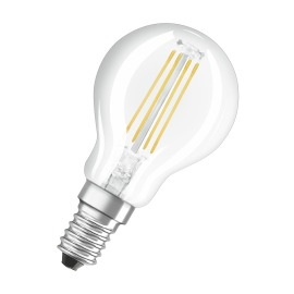 Osram LED RETROFIT CLASSIC P 37 4W 827 E14 CL