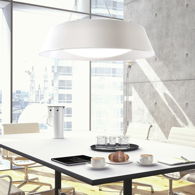 Mantra pendant light ARGENTA SMALL 45cm white