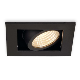 SLV KADUX LED Single Downlight Set black