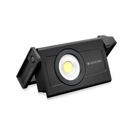 Ledlenser iF8R LED Construction Spotlight, rechargeable, 5 light levels, black