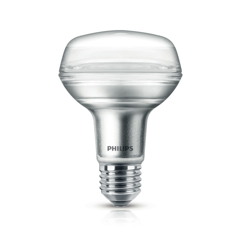 philips corepro ledspot 4 5 60w e27 827 r80 36 led lampen leuchtmittel lampen. Black Bedroom Furniture Sets. Home Design Ideas