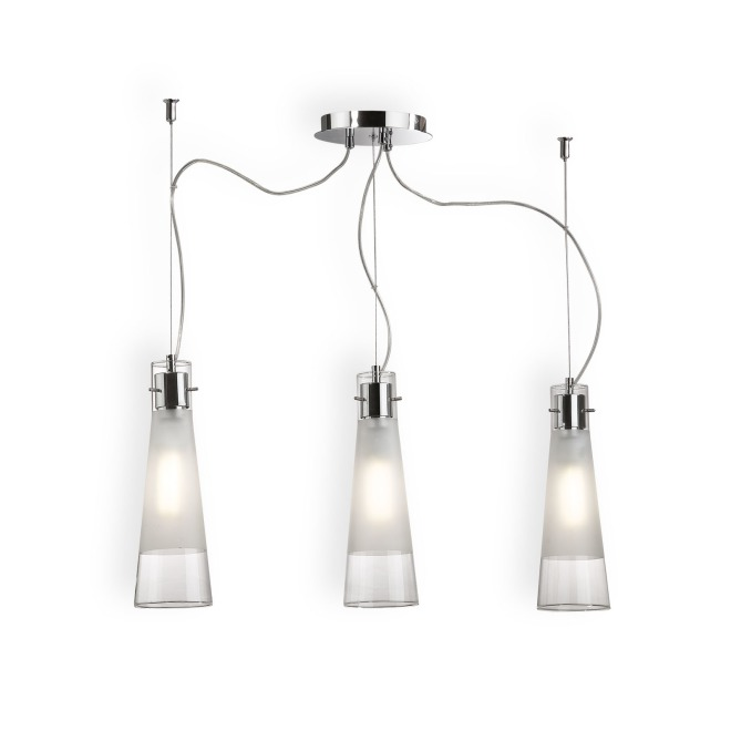 Ideal Lux KUKY CLEAR SP3 pendant light