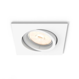 Philips myLiving LED Downlight Donegal carré blanc