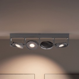 Philips MyLiving Particon Warmglow Spot 4-flammig