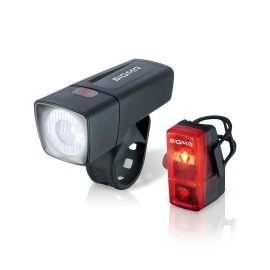 SIGMA SPORT Aura 25 / Cubic LED Bike Light Set