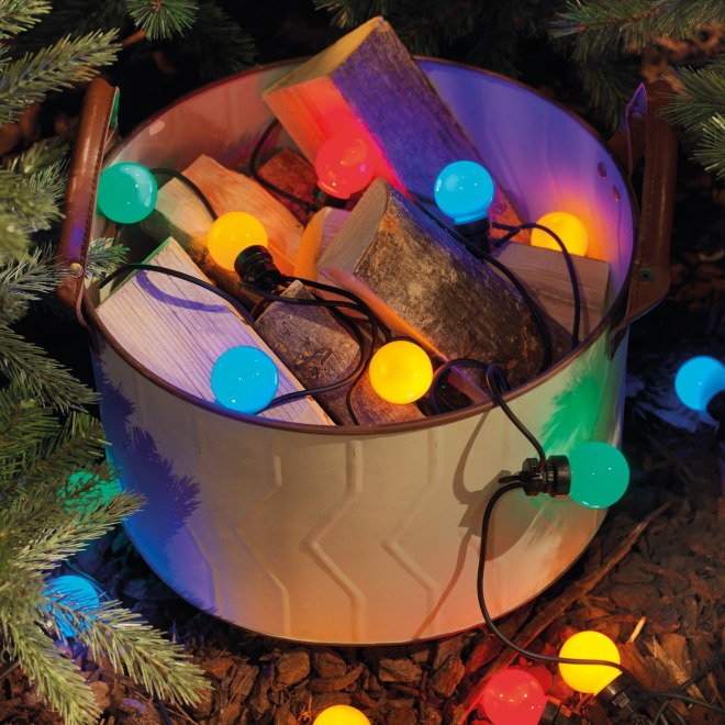 Lumineo LED-Partylichterkette multicolor Starter-Set