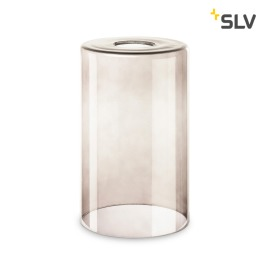 SLV Fenda Glass Lampshade, Smoked Glass