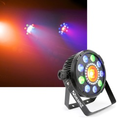 Beamz BX96 LED-PAR 9x9W 6in1 RGBAW-UV DMX IRC