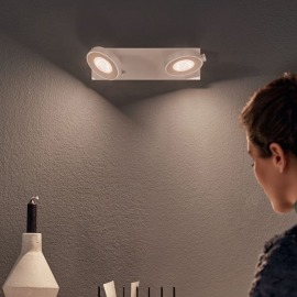 Philips myLiving Spot Clockwork Warmglow 2-flammig
