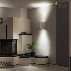 SLV Plastra wall light up/down GU10
