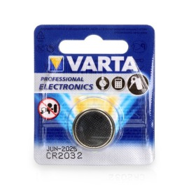 VARTA 6032 Lithium Button Cell Battery CR2032 3V