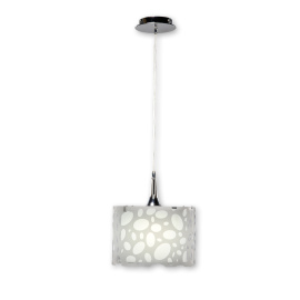 Mantra lampe suspendue MOON WHITE 1L SMALL