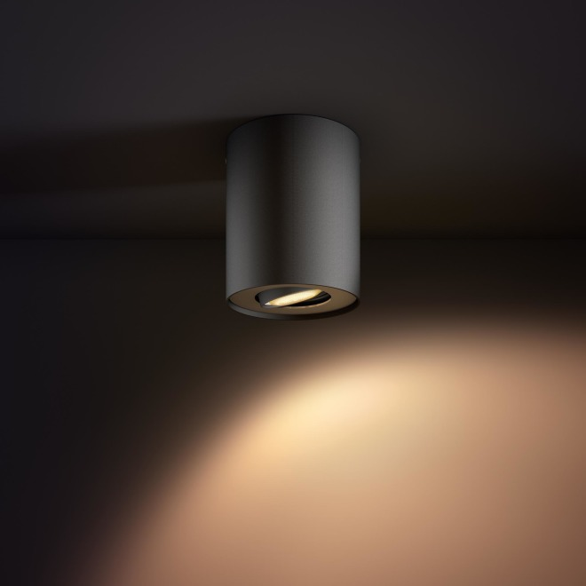 Philips hue Pillar LED 1 Spot extension noir
