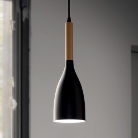 Ideal Lux MANHATTAN SP1 NERO pendant light