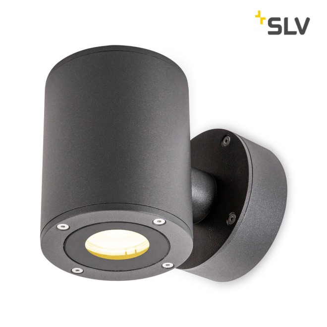 SLV Sitra Up/Down WL, LED-Outdoor Wandleuchte, anthrazit