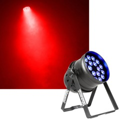 BeamZ BPP205 LED PAR 64-18x15W 5-1 PEN IR DMX