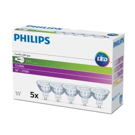 Philips CorePro LEDspot 5-35W MR16 827 36° Multipack of 5
