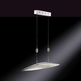 Fischer LED Pendant Luminaire Shine Five-flame 5.5W nickel