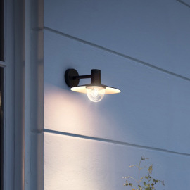 Philips myGarden Wall Light Skua, black