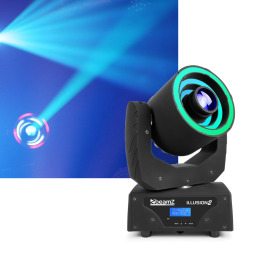 BeamZ Illusion II Moving Head 3 LED-Ring Spot