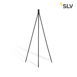 SLV Fenda Floor Lamp, Without Shade, black
